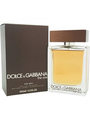 Dolce & Gabbana The One Eau de Toilette Spray for Men, 3.3 Ounce