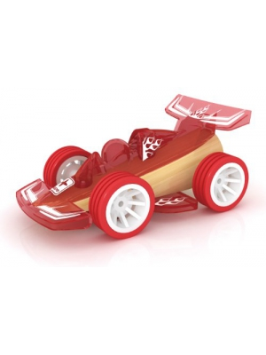 Hape Racer Bamboo Toy Car Kid's Wooden Play Vehicle