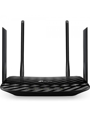 TP-Link AC1200 Gigabit Smart WiFi Router - 5GHz Gigabit Dual Band MU-MIMO Wireless Internet Router, Long Range Coverage by 4 Antennas(Archer A6)