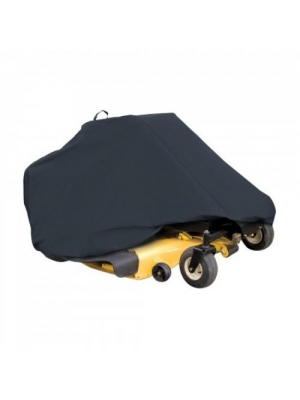 "Classic Accessories 73997 Zero Turn Riding Lawn Mower Cover, Black, Up to 50"" Decks"