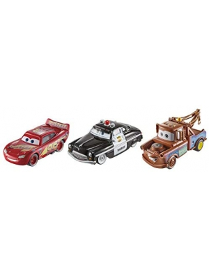 Disney Cars Toys Disney/Pixar Cars Die-cast 3-Pack, Model:FXH57