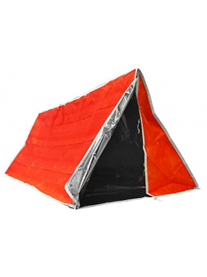 SE ET3683 Emergency Outdoor Tube Tent with Steel Tent Pegs