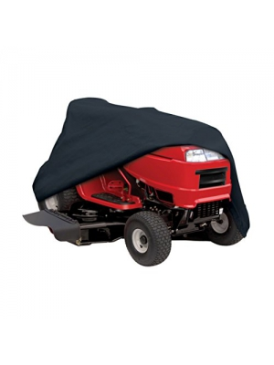 "Classic Accessories 52-147-040401-00 Lawn Tractor Cover, Black, Up to 62"" Decks"