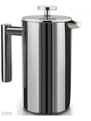 SterlingPro Double Wall Stainless Steel French Coffee Press Maker, 1 Liter - 34 oz