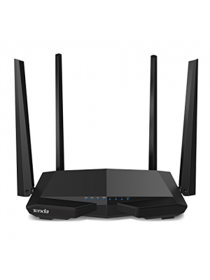 Tenda AC1200 Dual Band WiFi Router, High Speed Wireless Internet Router with Smart App, MU-MIMO for Home (AC6)
