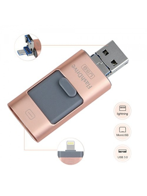 GJNoutue Usb Flash Drive for iphone 32GB Multifunction flash drive, usb thumb drive flash drive 3.0/peripheral storage memory stick adapter, is suitable for the iphone/ipad/Android/MAC/PC