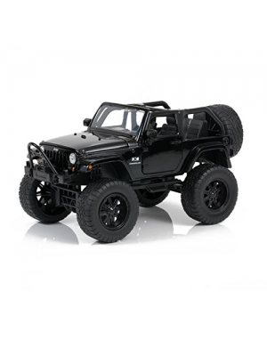 2007 Blacked Out Jeep Wrangler - Just Trucks Off Road Edition - 1/24 Scale - Jada Toys 97446
