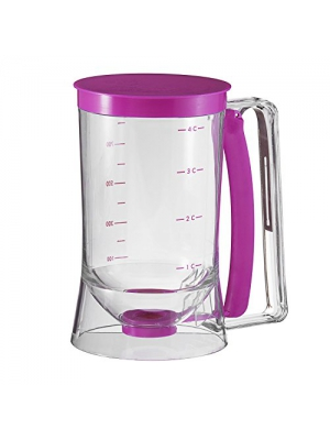 Collections Etc - Cake Batter Dispenser With Measuring Label