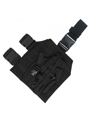 Drop Leg Platform with Included Detachable Holster вњ® Black вњ® The Ultimate Utility Drop Leg Panel вњ®