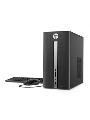 Newest Flagship HP Pavilion 570 High Performance Business Desktop - Intel Quad-Core i5-7400 up to 3.5GHz 16GB DDR4 1TB HDD SuperDVD Burner 802.11ac Bluetooth HDMI USB 3.0 Keyboard & Mouse Windows 10