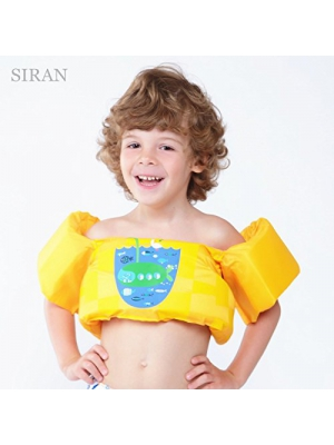 Siran Toddler Life Jacket Baby Swim Float Kids Swim Life Vest/Kids Swimming Floats Vest for Kids-Flotation Device 30-50 lbs