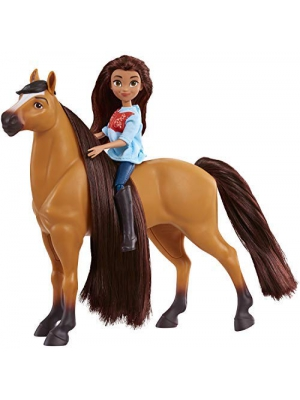 DreamWorks Spirit Riding Free Collector Doll & Horse - Lucky & Spirit