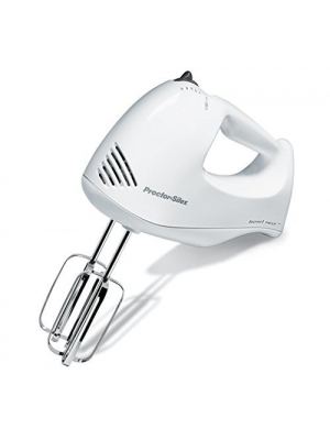 Proctor Silex 62535 Bowl Rest 5-Speed Mixer, White by Proctor Silex