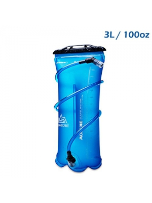 TRIWONDER 1.5-2-3L BPA Free Hydration Bladder Water Reservoir for Cycling Hiking Camping Backpack