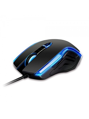 Etekcity Scroll S200 High Precision 2400 DPI Symmetrical Optical USB Wired Mouse
