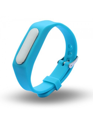 Seeme Colorful Waterproof Replacement Band for Xiaomi Wireless Wristband Bracelet (No Activity Tracker) (Blue)
