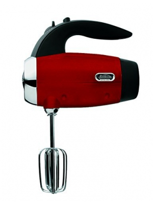 Sunbeam 002550-000-000 Heritage Hand Mixer, Candy Apple Red by Sunbeam