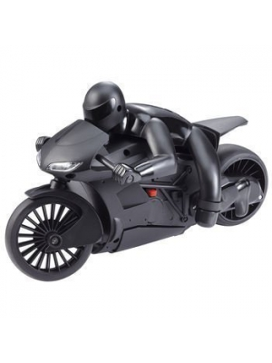 The Black Series Lean Machine Radio Controlled High Speed RC Motorcycle with Leaning Function