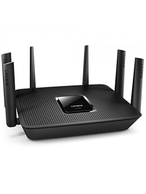 Linksys Max-Stream AC4000 MU-MIMO Wi-Fi Tri-Band Router, Compatible with Alexa (EA9300) (Renewed)