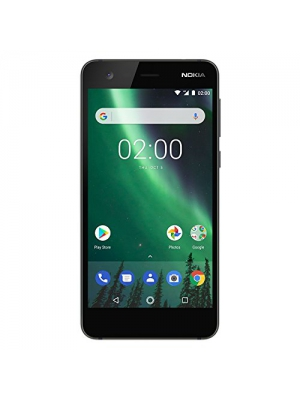 "Nokia 2 - Android - 8GB - Single SIM Unlocked Smartphone (AT&T/T-Mobile/MetroPCS/Cricket/H2O) - 5"" Screen - Black - U.S. Warranty"