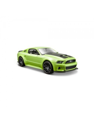 Maisto 1:24 Scale 2014 Ford Mustang Street Racer Diecast Vehicle (Colors May Vary)