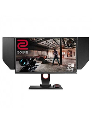 BenQ ZOWIE XL2540 24.5 inch 240Hz Gaming Monitor with G-Sync Compatible/ Adaptive Sync | 1080p 1ms | Black Equalizer for Competitive Edge | S-Switch for Custom Display Profiles | Shield