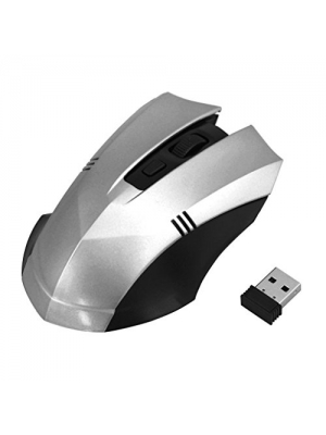 Gaming Mouse Mice, Dreaman-2.4GHz Wireless Optical Mouse Gaming Mouse Mice Receiver For PC White