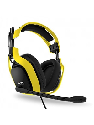 ASTRO Gaming Neon Color Series A40 Headset Kit (Yellow)