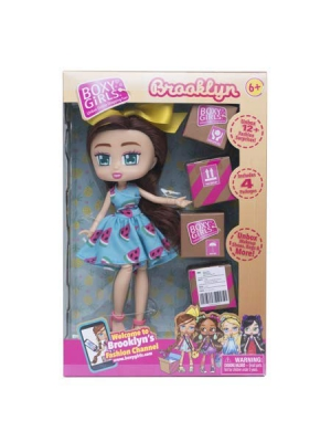 Boxy Girls BROOKLYN 8 inch Doll With 4 Surprise Packages