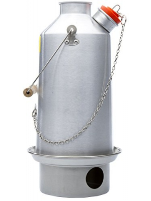 Camp Stove - Kelly Kettle: Anodized Aluminum - Boils Water Within Minutes, Uses Natural Fuel, and Enables You to Rehydrate Food or Cook a Meal