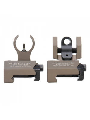 Troy Industries Micro HK Style Front and Rear Folding Battle Sight