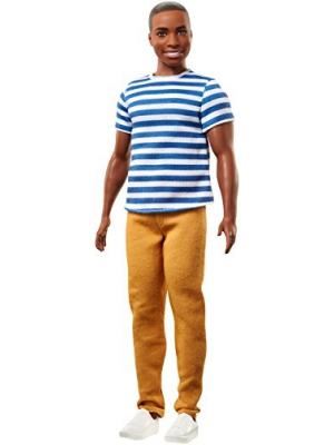 Mattel Ken Fashionistas Doll 18 Super Stripes
