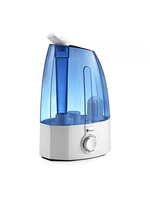 TaoTronics Ultrasonic Humidifiers,3.5L Cool Mist Humidifier for Home Baby Bedroom with Filter, Two 360°Rotatable Mist Outlets, Classic Dial Knob Control --(3.5L/0.92 Gallon, US 110V)
