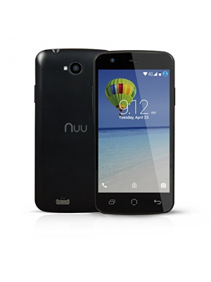 "NUU Mobile NU2S 4.5"" qHD Android Lollipop 4G Smartphone (Black)"