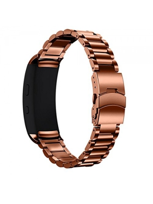 AutumnFall Genuine Stainless Steel Bracelet Strap Replacement Band for Samsung Gear Fit 2 SM-R360