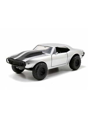 Fast & Furious – Roman's Chevy Camaro Off Road 1:24 Scale (Silver)