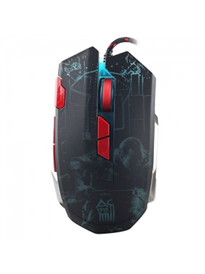 Generic 8-Key Wired Professional Game Mouse with Colorful LED Light