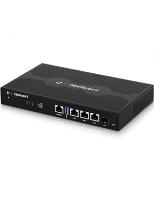 Ubiquiti EdgeRouter 4, 4-Port Gigabit Router with 1 SFP Port (ER-4-US)