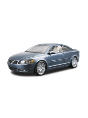 Bburago 1:24 Scale Volvo C70 Coupe Diecast Vehicle (Colors May Vary)