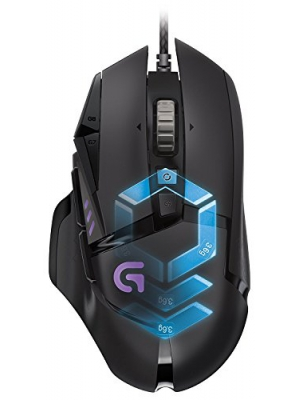 Logitech G502 Proteus Spectrum RGB Tunable Gaming Mouse 910-004615(Certified Refurbished)