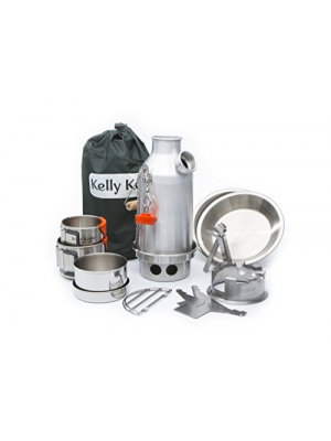 Kelly Kettle Ultimate Anodized Aluminum Small Trekker Camp Stove Kit