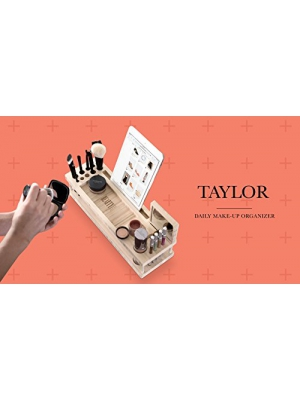 Taylor Beauty Station - Daily Makeup Organizer with Mirror