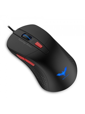 Havit Gaming Mouse, 2800DPI 6 Buttons LED Optical Wired Mouse, Black