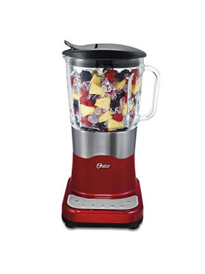 Oster BLSTDG-R00 Liquefy Blend 200 6 Speed 450W Blender - Metallic Red