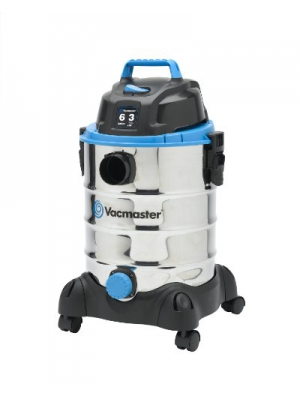Vacmaster 6 Gallon, 3 Peak HP, Stainless Steel Wet/Dry Vacuum, VQ607SFD
