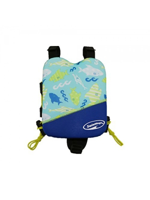Swimways 00192 Power Swimr Assorted Swimming Vest System, Small, Age 2-3 Years