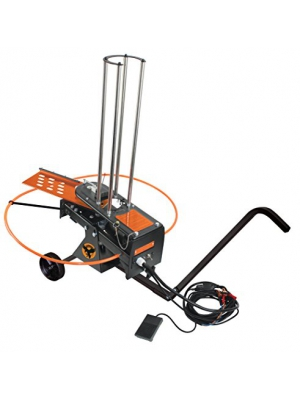 Do-All Outdoors Raven Automatic Clay Pigeon Skeet Thrower with Wheels, 50 Clay Capacity