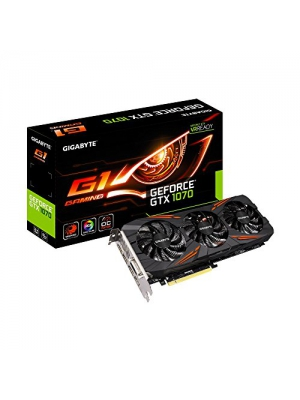 Gigabyte GeForce GTX 1070 G1 Gaming Video/Graphics Cards GV-N1070G1 GAMING-8GD