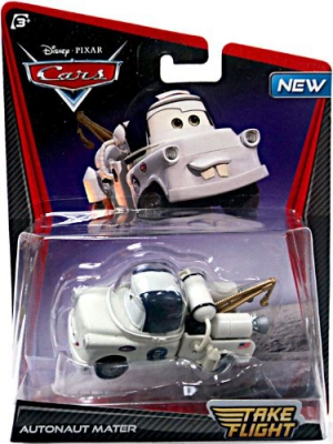 Disney/Pixar CARS TOON 155 Die Cast Car Take Flight Autonaut Mater