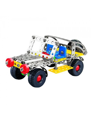 Construction Toys, Olicity Metal Construction Car Set Toys with Screwdrivers for Boys and Girls (142 pcs)